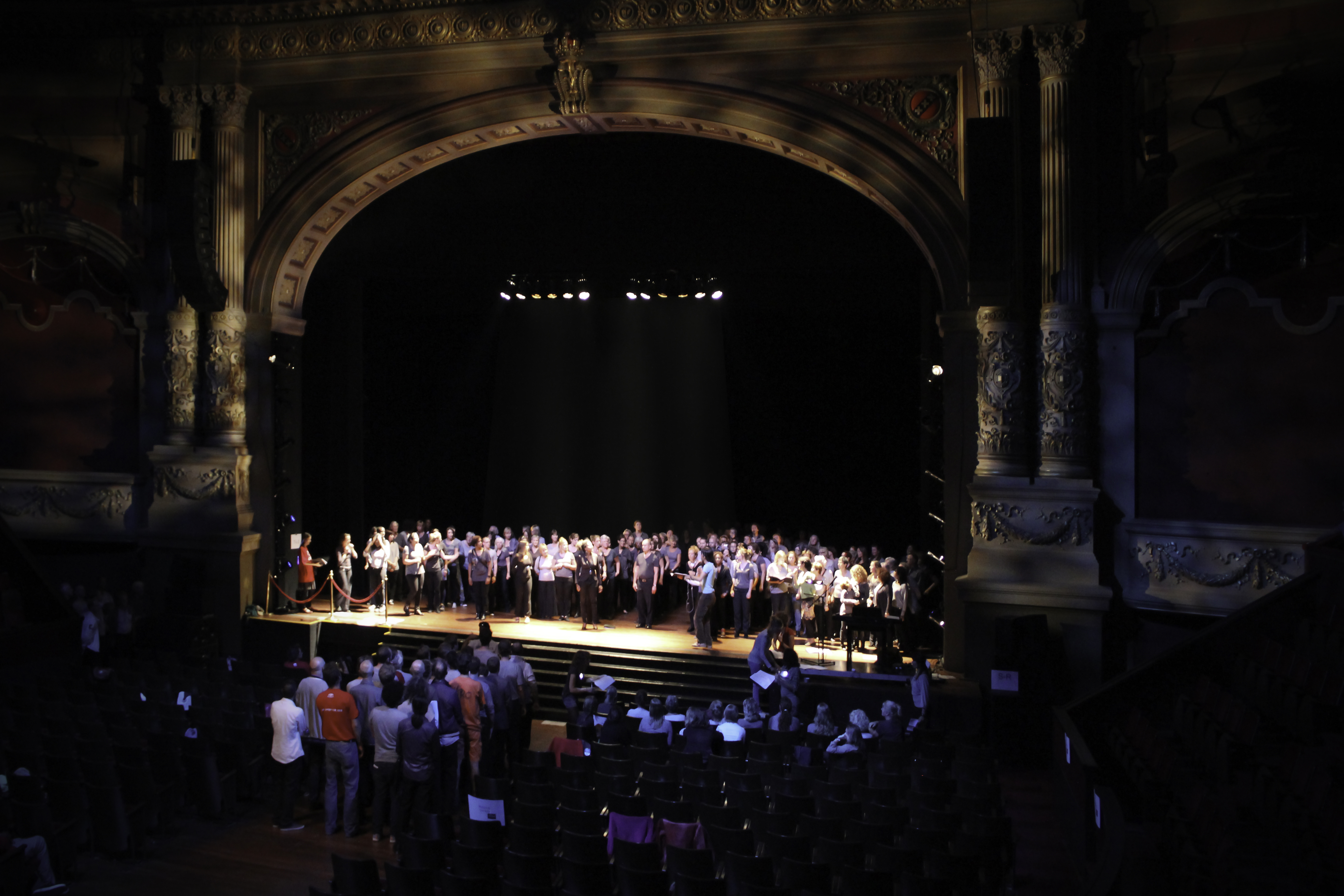 Read more about the article DUIZEND STEMMEN in THEATER CARRE